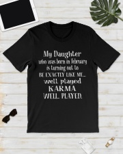 MY DAUGHTER 02 Classic T-Shirt lifestyle-mens-crewneck-front-17