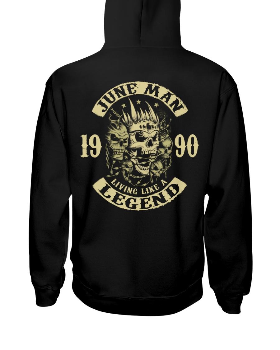 MAN 1990-6 Hooded Sweatshirt