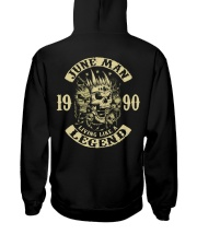 MAN 1990-6 Hooded Sweatshirt back