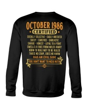 MESS WITH YEAR 86-10 Crewneck Sweatshirt thumbnail