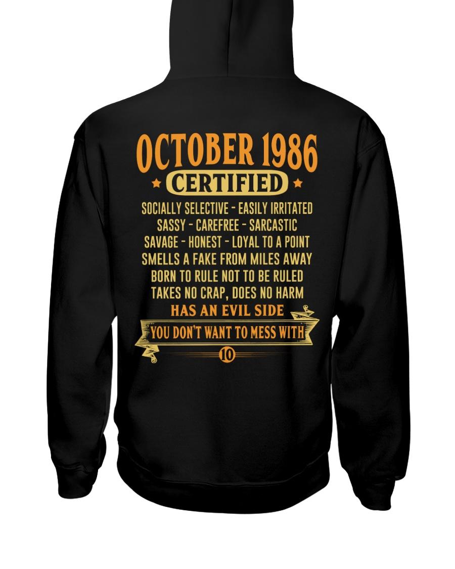 MESS WITH YEAR 86-10 Hooded Sweatshirt