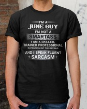 SMARTASS GUY6 Classic T-Shirt apparel-classic-tshirt-lifestyle-30