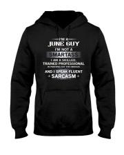 SMARTASS GUY6 Hooded Sweatshirt thumbnail