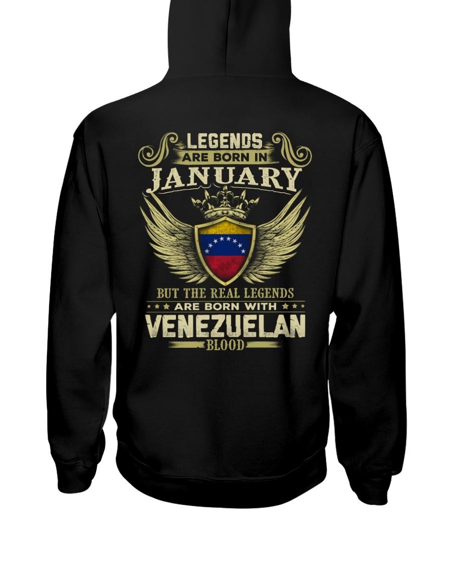 Blood Venezuelan 01 Hooded Sweatshirt