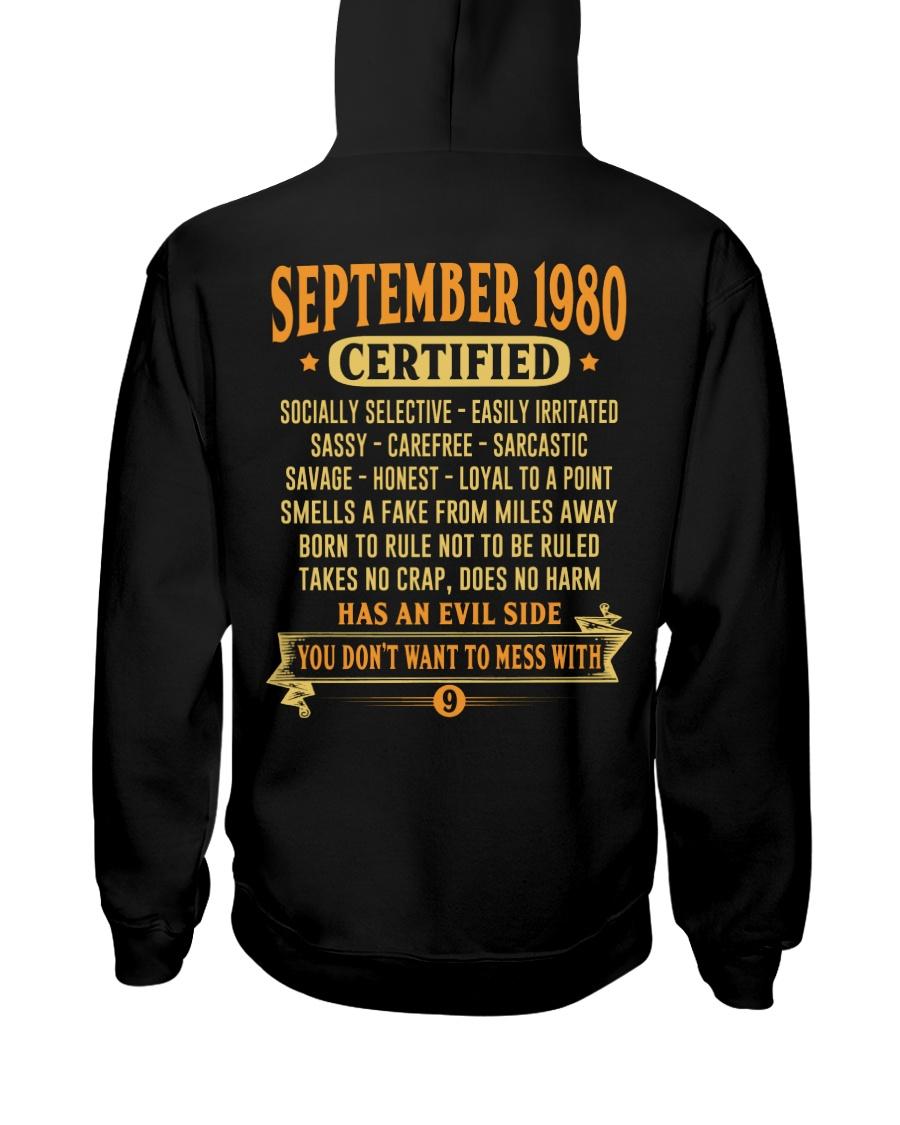 MESS WITH YEAR 80-9 Hooded Sweatshirt
