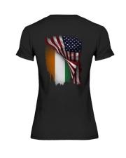 Flag-America-Ivory - Coast Premium Fit Ladies Tee thumbnail