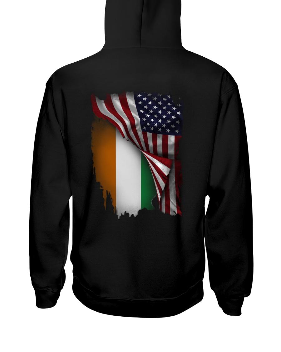 Flag-America-Ivory - Coast Hooded Sweatshirt
