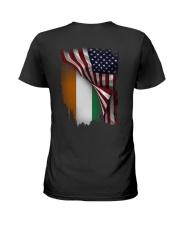 Flag-America-Ivory - Coast Ladies T-Shirt thumbnail