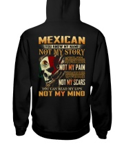 Mexican Hooded Sweatshirt back