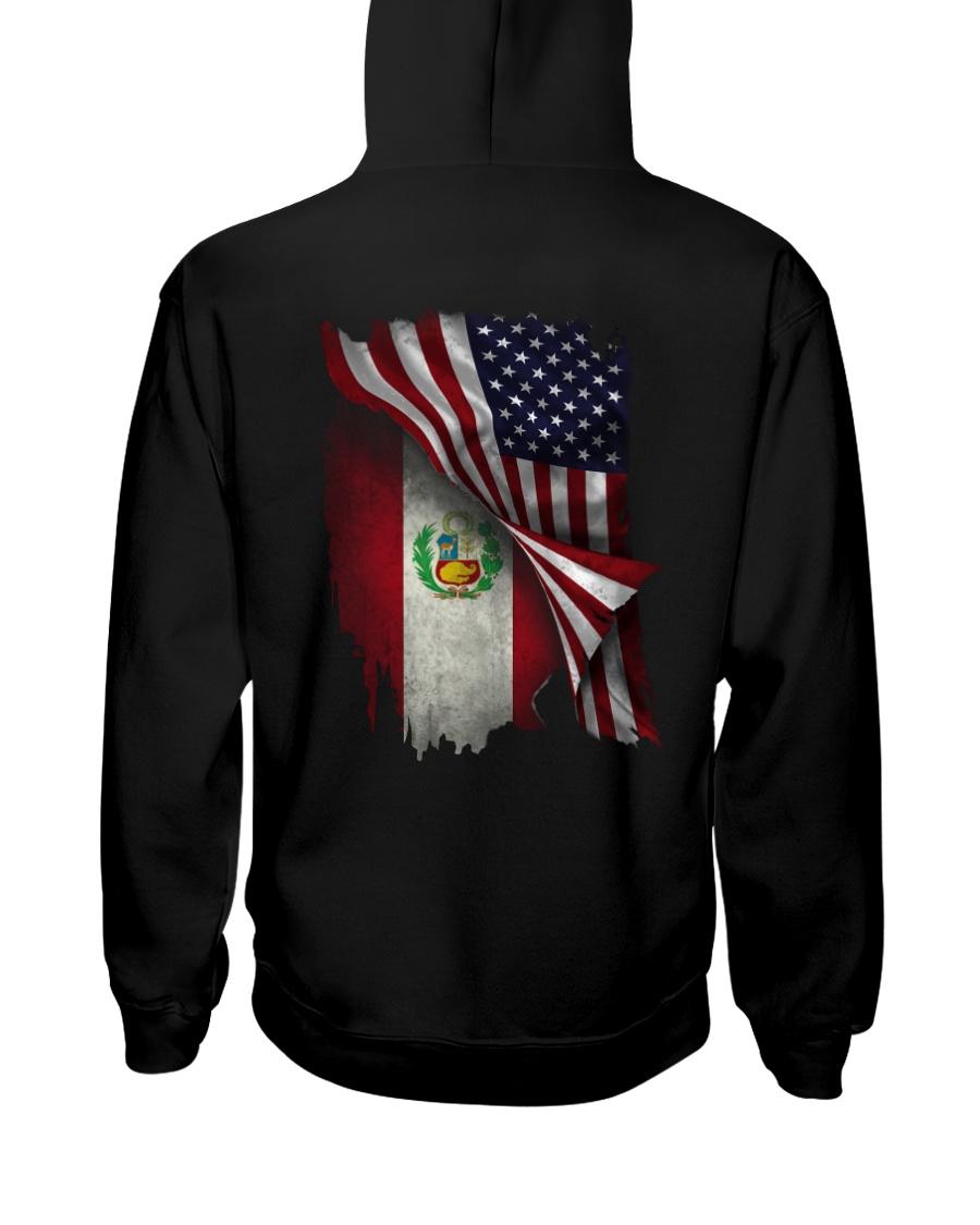 Flag-Peruvian Hooded Sweatshirt