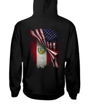 Flag-Peruvian Hooded Sweatshirt back