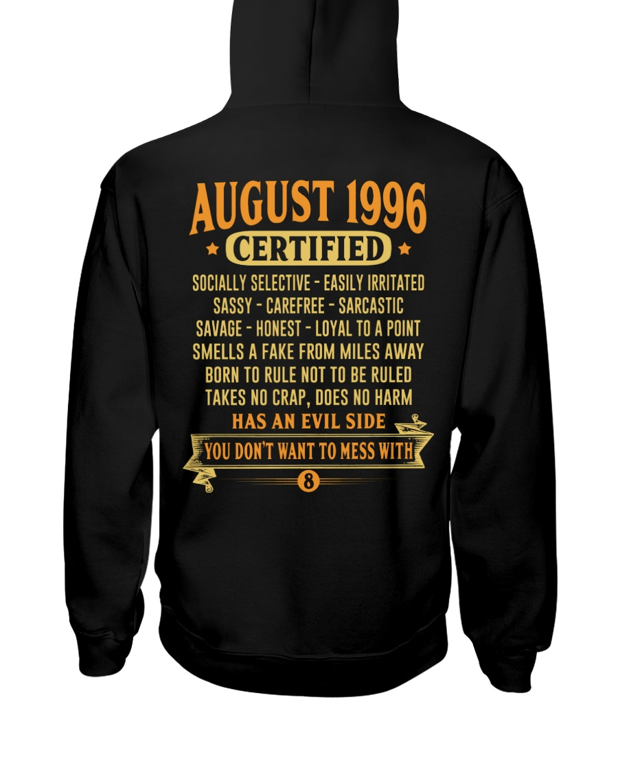MESS WITH YEAR 96-8 Hooded Sweatshirt