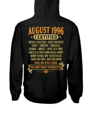 MESS WITH YEAR 96-8 Hooded Sweatshirt back