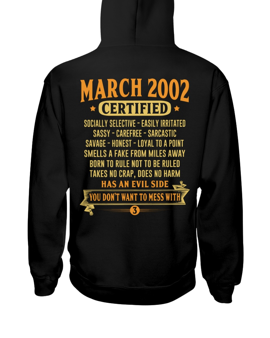 MESS WITH YEAR 02-3 Hooded Sweatshirt