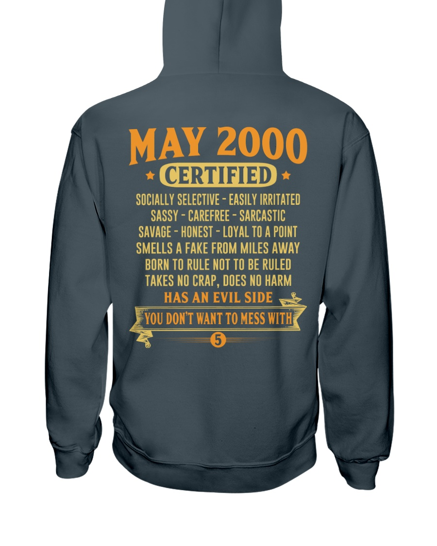 MESS WITH YEAR 00-5 Hooded Sweatshirt