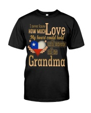 I Never Know- Grandma- Chile Classic T-Shirt front