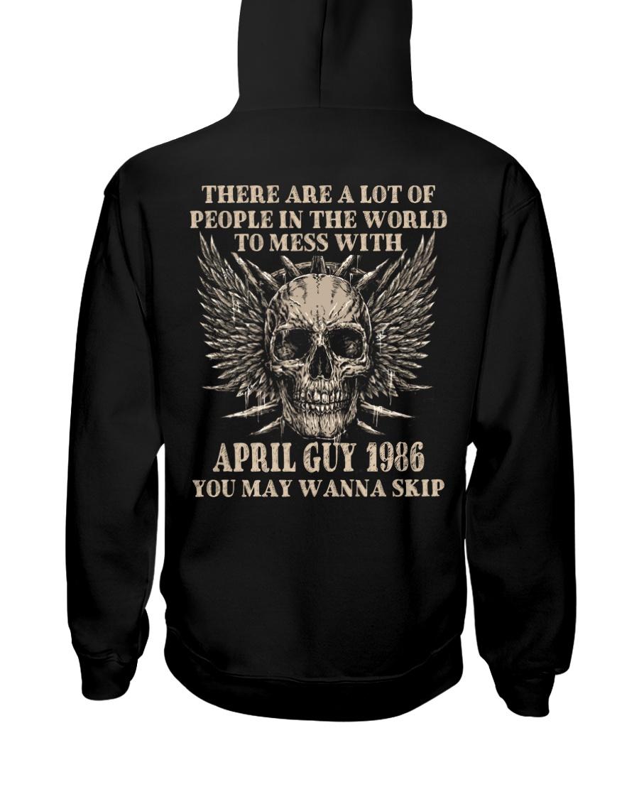 I AM A GUY 86-4 Hooded Sweatshirt