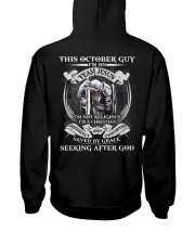 GUY 10 Hooded Sweatshirt back
