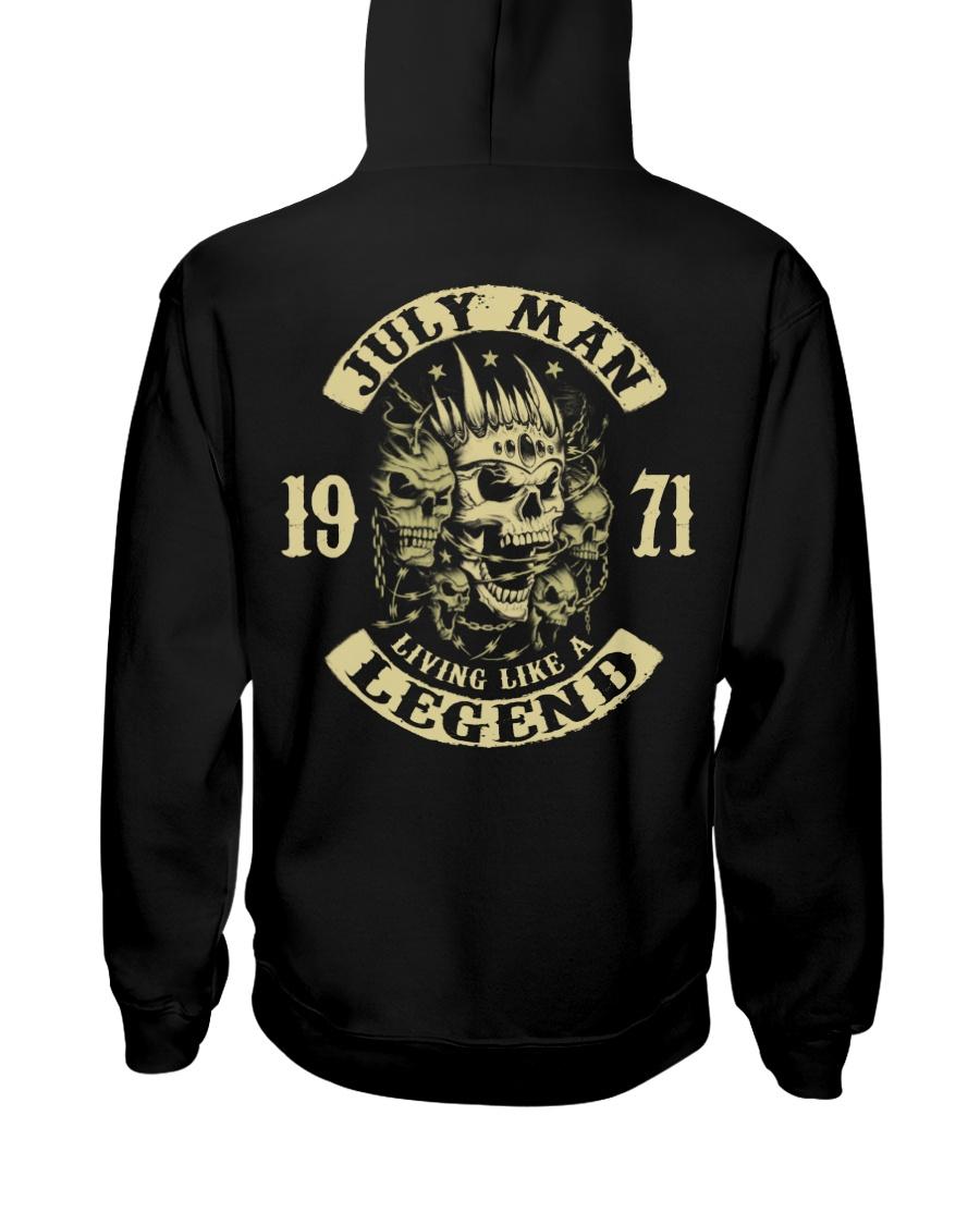 MAN 1971 07 Hooded Sweatshirt