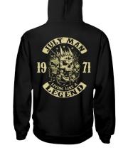 MAN 1971 07 Hooded Sweatshirt back