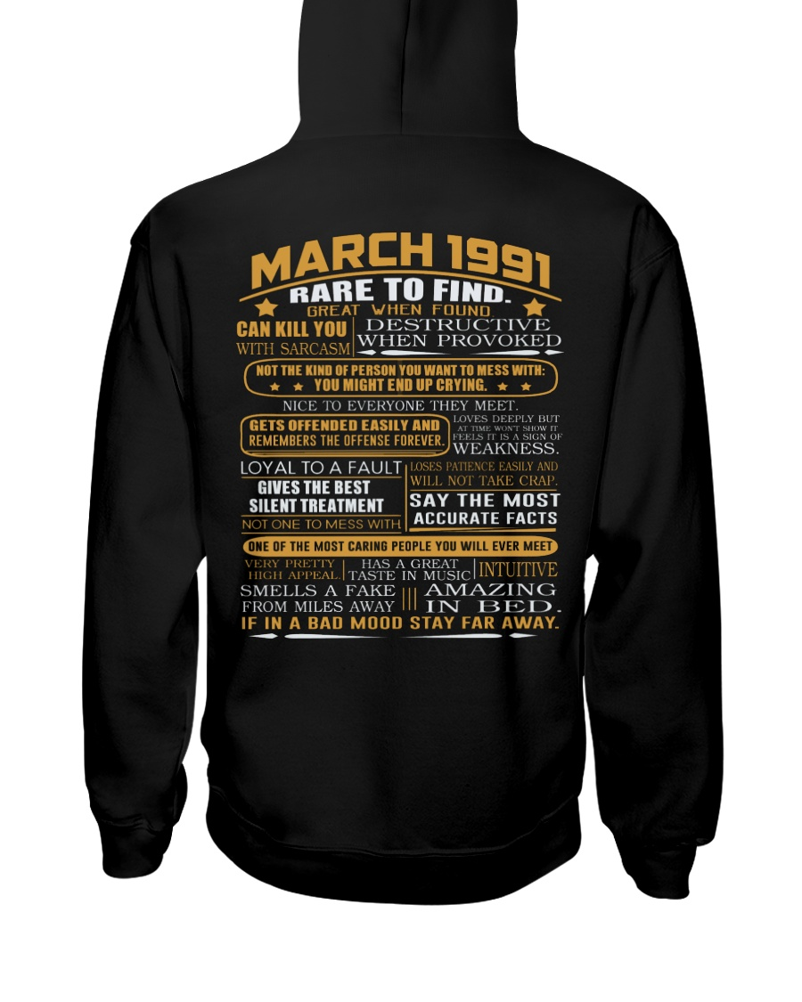 YEAR GREAT 91-3 Hooded Sweatshirt