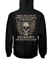 I AM A GUY 57-7 Hooded Sweatshirt back