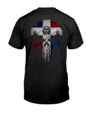 Skull Dominican Premium Fit Mens Tee thumbnail
