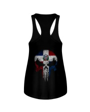 Skull Dominican Ladies Flowy Tank thumbnail