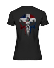 Skull Dominican Premium Fit Ladies Tee thumbnail