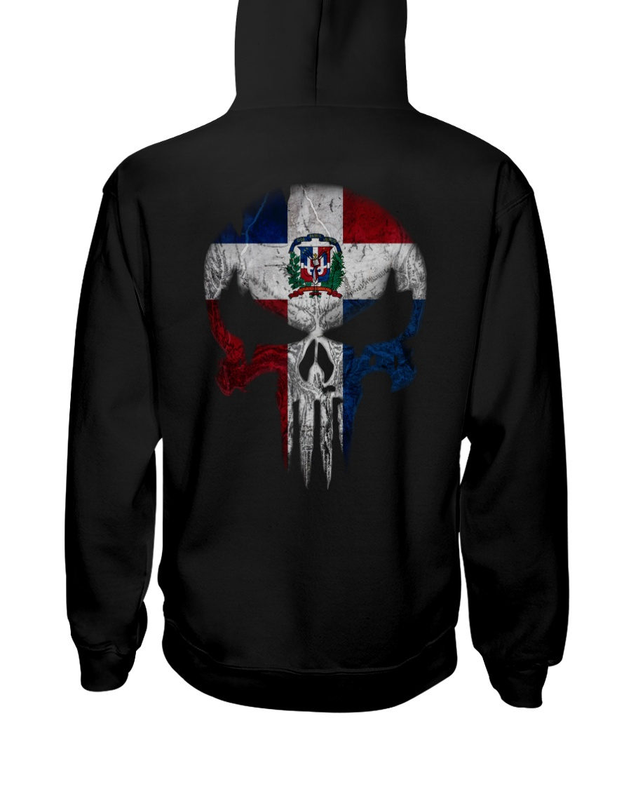 Skull Dominican Hooded Sweatshirt