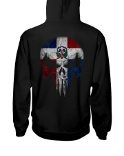 Skull Dominican Hooded Sweatshirt back