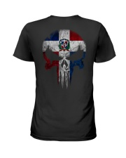 Skull Dominican Ladies T-Shirt thumbnail