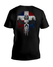 Skull Dominican V-Neck T-Shirt thumbnail