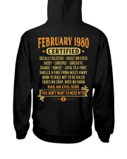MESS WITH YEAR 80-2 Hooded Sweatshirt back