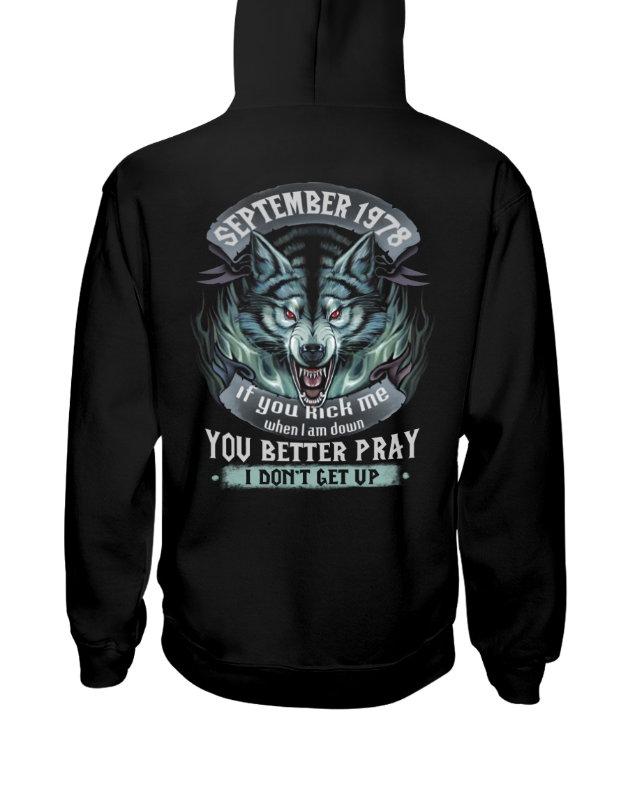 BETTER GUY 78-9 Hooded Sweatshirt