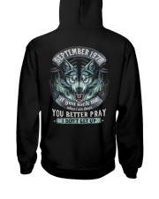 BETTER GUY 78-9 Hooded Sweatshirt back