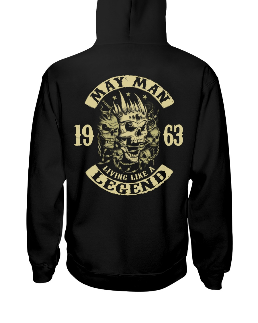 MAN 1963-5 Hooded Sweatshirt