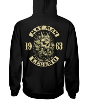 MAN 1963-5 Hooded Sweatshirt back