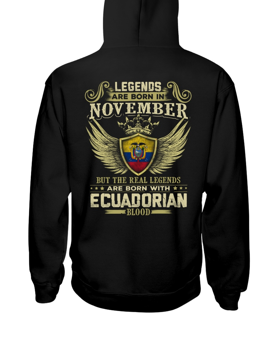 Blood Ecuadorian 011 Hooded Sweatshirt
