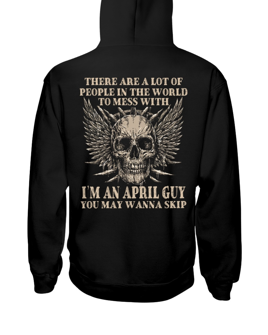 I AM A GUY 04 Hooded Sweatshirt