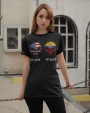 MY HOME SKULL Ecuador Classic T-Shirt apparel-classic-tshirt-lifestyle-19