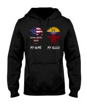 MY HOME SKULL Ecuador Hooded Sweatshirt thumbnail