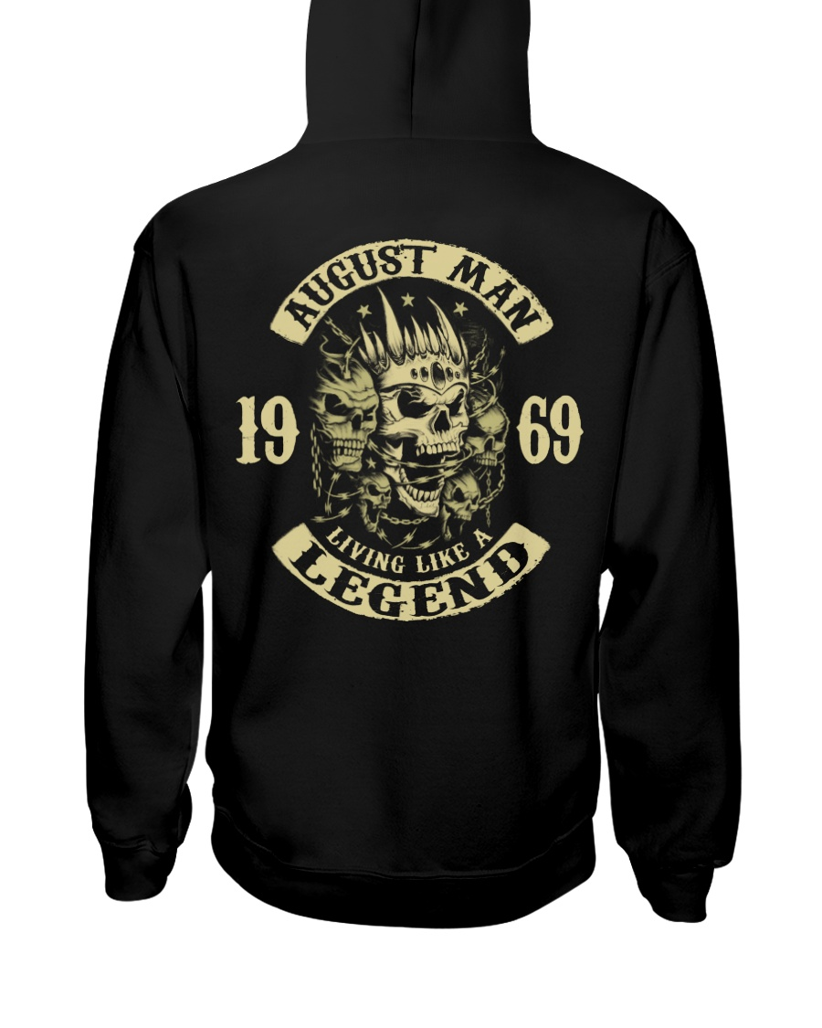 MAN 1969 08 Hooded Sweatshirt