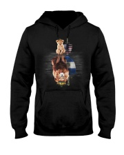 King Salvador Hooded Sweatshirt front