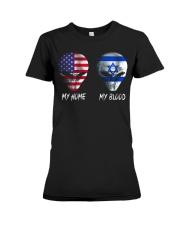 Israel Premium Fit Ladies Tee thumbnail