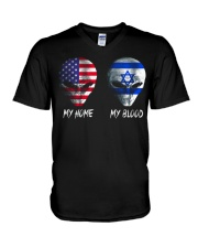 Israel V-Neck T-Shirt thumbnail