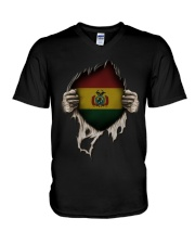 Bolivia V-Neck T-Shirt tile
