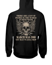 I AM A GUY 60-3 Hooded Sweatshirt back
