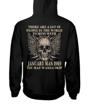 I AM A GUY 69-1 Hooded Sweatshirt back