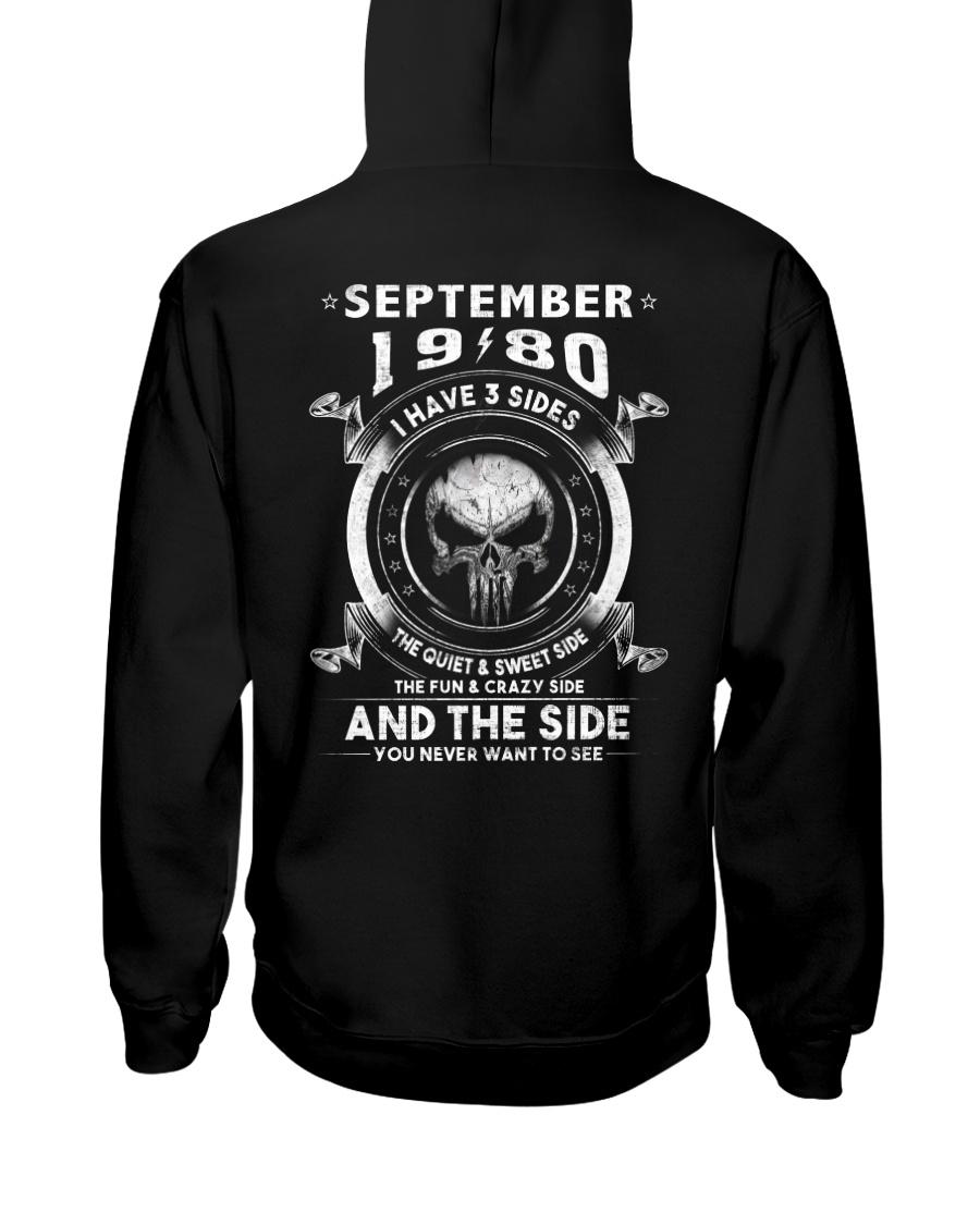 3SIDE 80-09 Hooded Sweatshirt